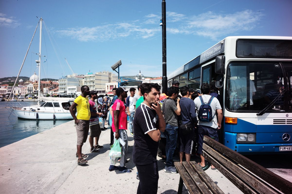 waiting-for-the-bus-mitilini-greece-medland-project