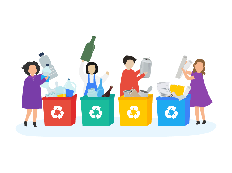 Recycling – Teaching Them while They are still Young