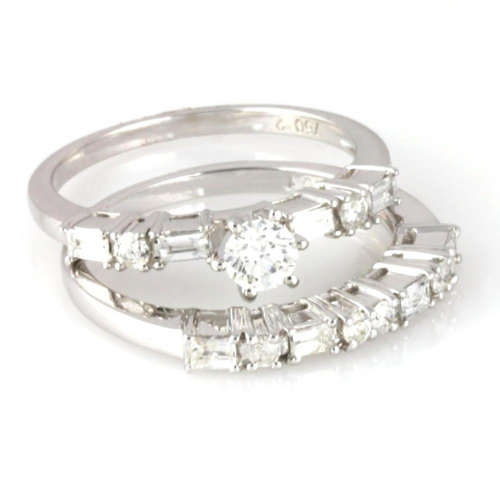 خاتم توينز الماس مجوهرات ماسات