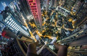 هونج كونج من منظور رأسي