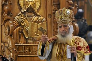 البابا شنودة الثالث بابا الاسكندرية وبطريرك الكرازة المرقسية