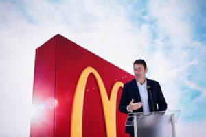 ستيف إيستربروك رئيس ماكدونالدز من 2015 لـ2019