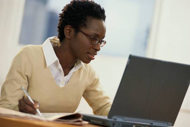 Image result for african boss lady in office image