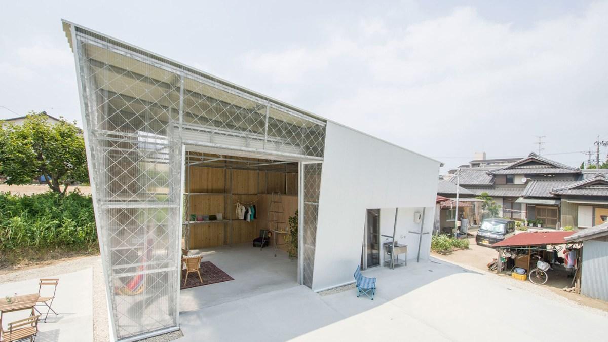 hut project in aichi, takayuki kuzushima