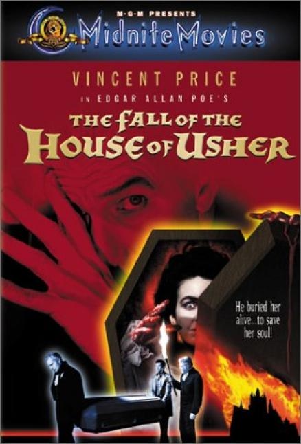 Pelcula La Cada de la Casa Usher 1960  House of Usher  The Fall of the House of Usher