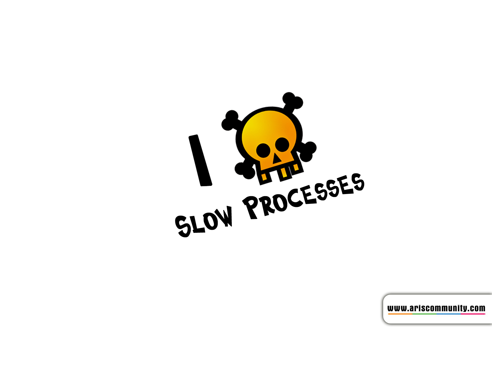 For all Slow Process Haters... New wallpaper availabele