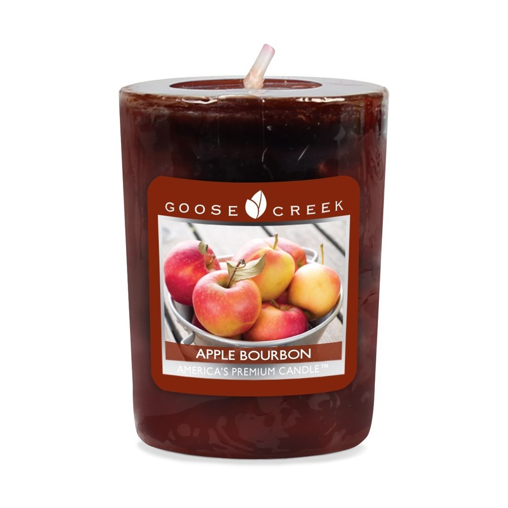 Apple Bourbon Scented Votive