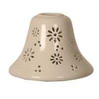 Ceramic Daisy Candle Jar Lamp Shade