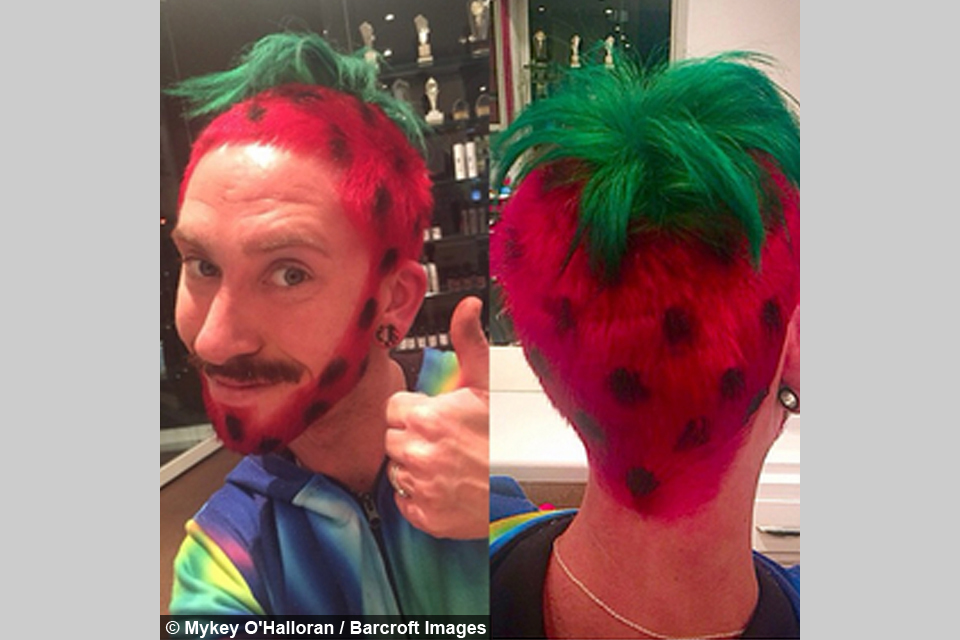 Hairdresser Creates Crazy Hairstyles For Charity