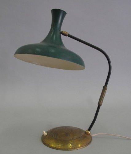 travail des annees 50 lampe de bureau tableaux dessins et sculptures des xixe et xxe siecles arts decoratifs du xxe a piasa auction fr