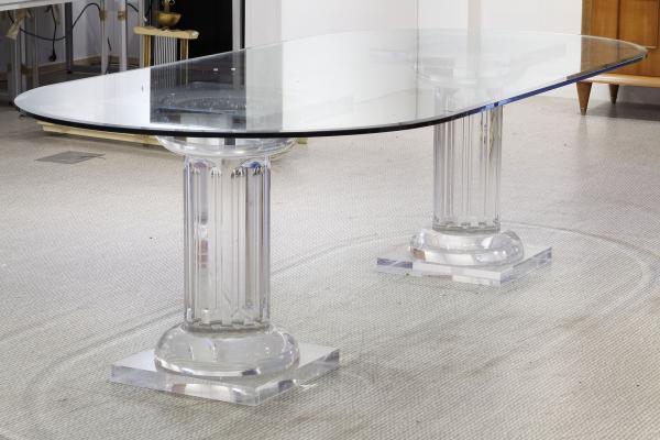 travail moderne grande table de salle a