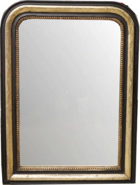 miroir de cheminee a angles arrondis en