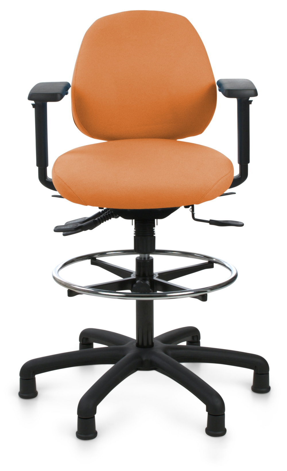 Orange Office Chairs Opera 60 2 H Ergonomic Office Chair