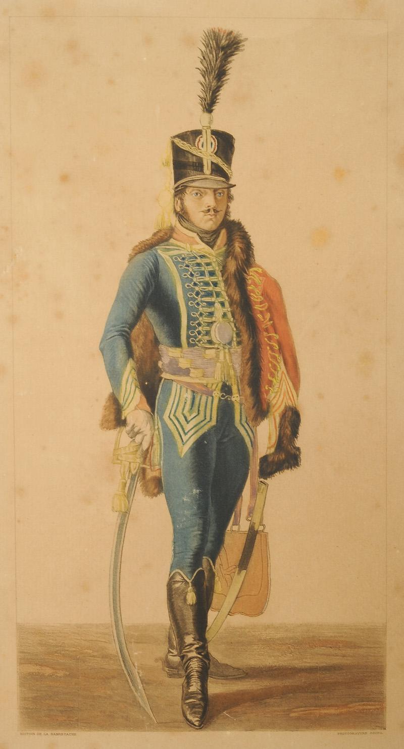 lejeune baron officier de hussards et