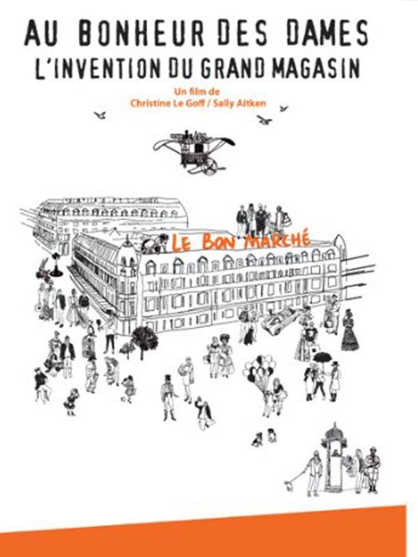 Au Bonheur Des Dames Magasin : bonheur, dames, magasin, Bonheur, Dames,, L'invention, Grand, Magasin, Boutique