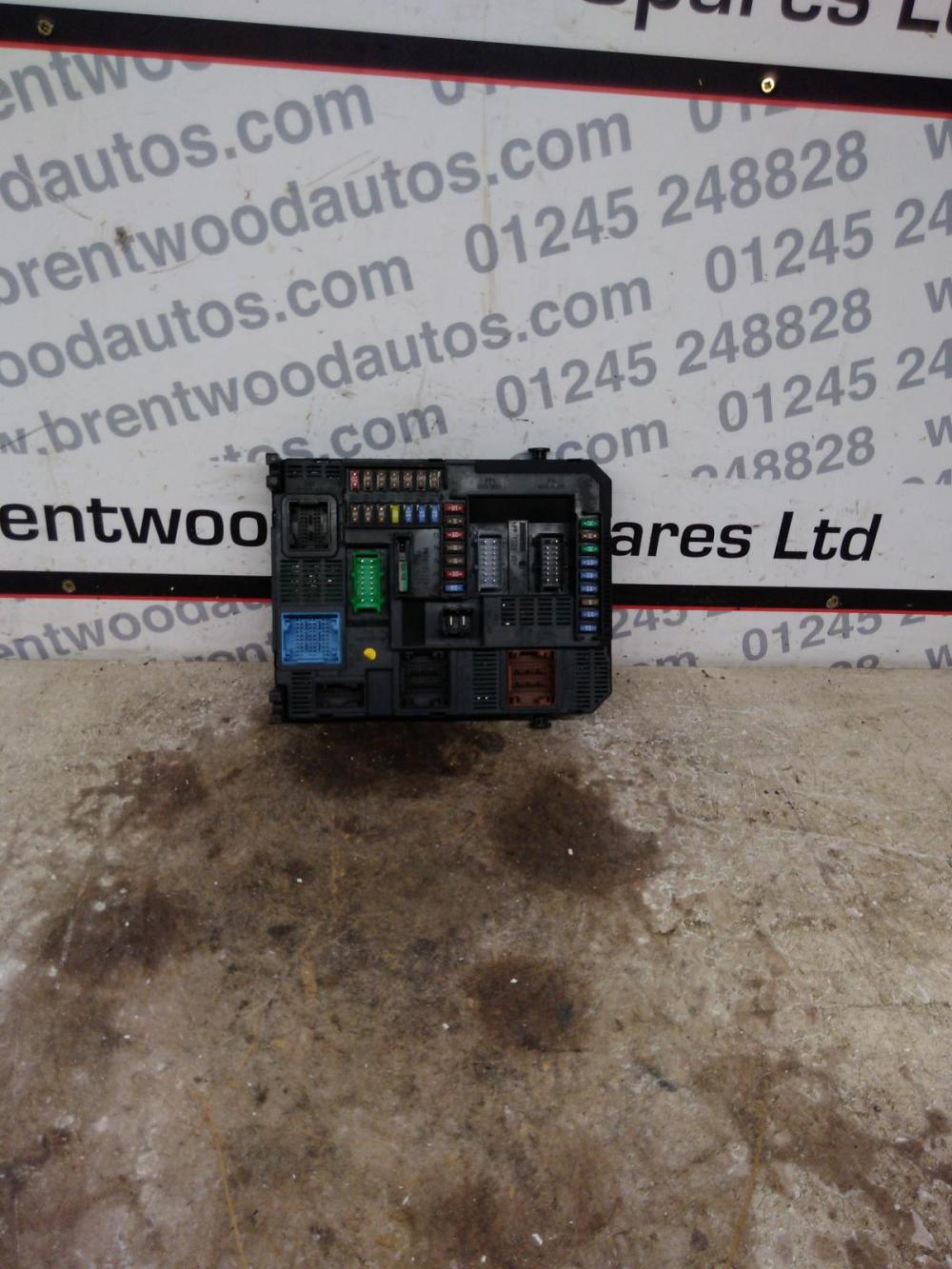 medium resolution of details about citroen c4 picasso mk2 2013 1 6 hdi fuse box bsi 9804067480