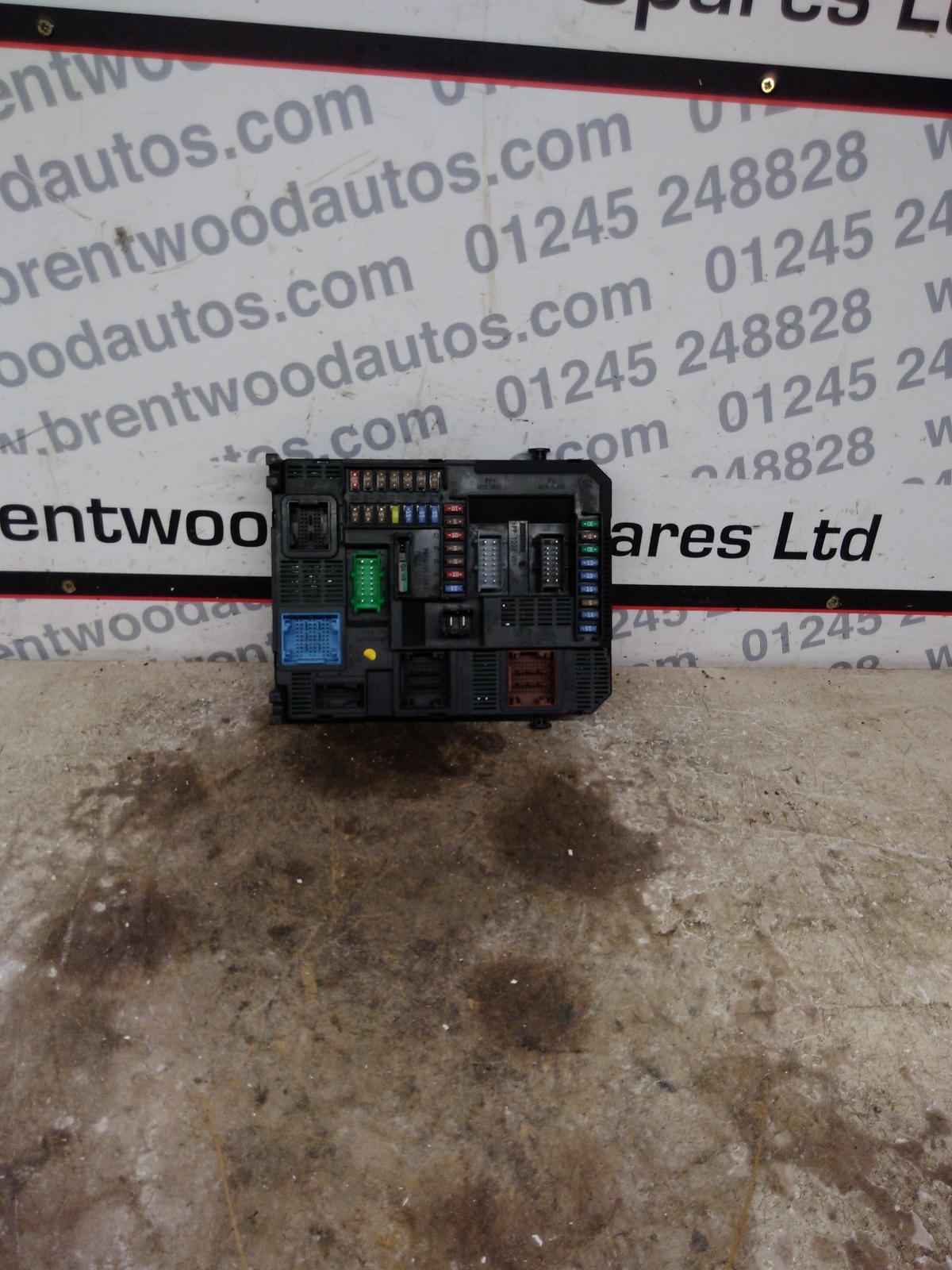 hight resolution of details about citroen c4 picasso mk2 2013 1 6 hdi fuse box bsi 9804067480