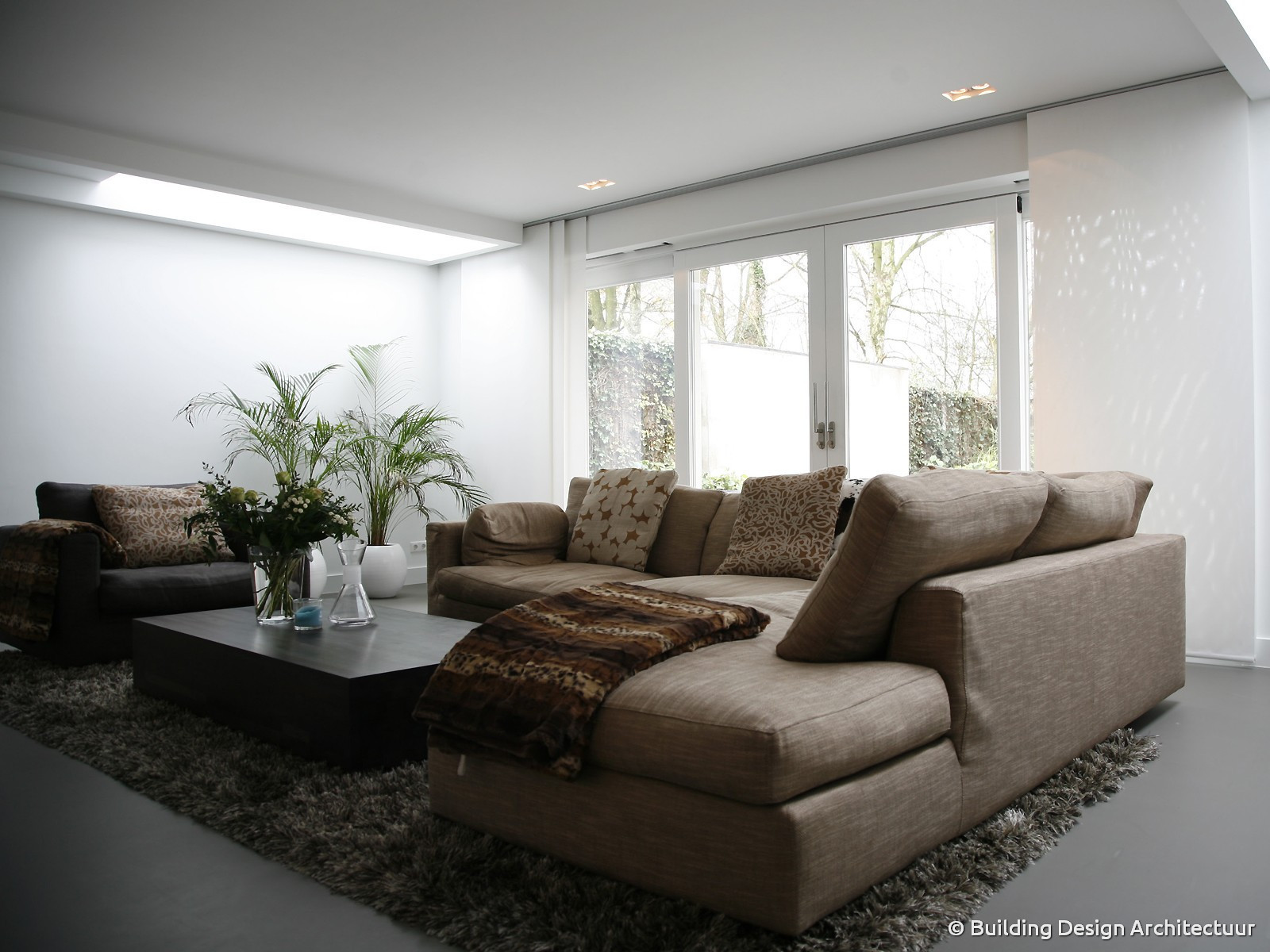 complete inrichting woonkamer with complete inrichting