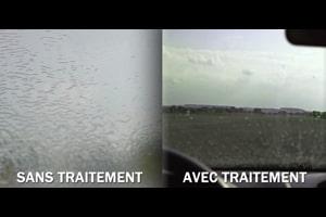 traitement anti pluie de carglass