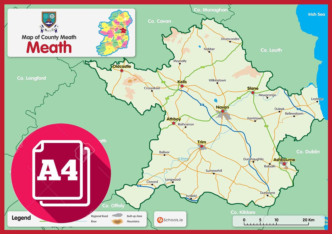Meath County Map