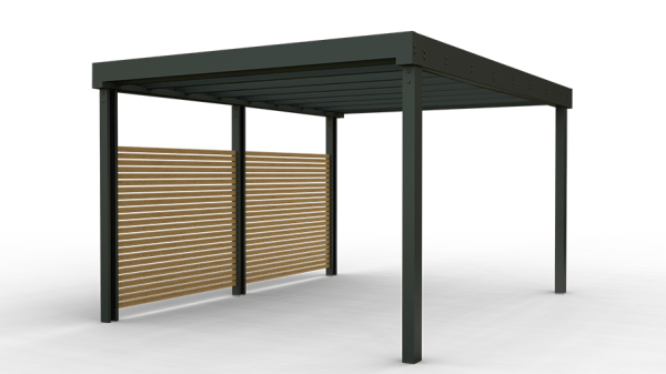 contemporary carports and shelters