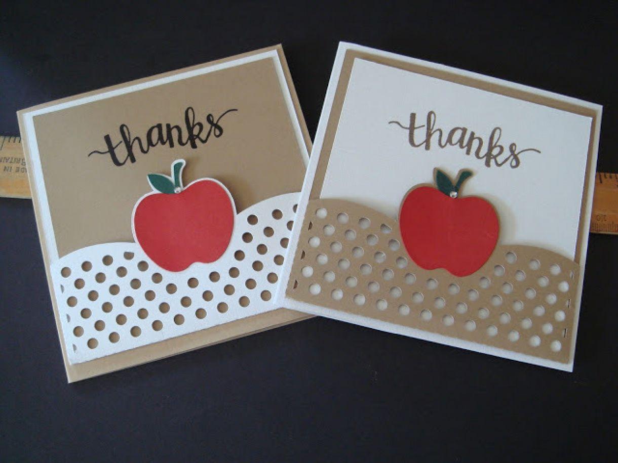 More Teacher Thank You Card Ideas
