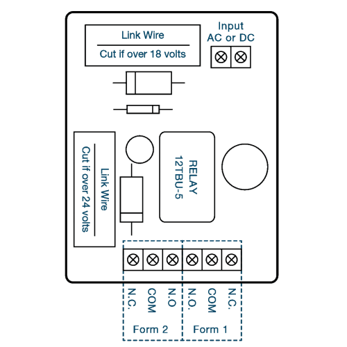 small resolution of double pole double through contact diagram