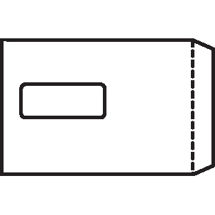 5 Star Office Envelopes PEFC Pocket Self Seal Window 90gsm