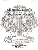 Sheet music: Albert Hay Malotte: The Lord's Prayer