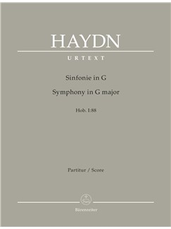 J. Haydn: Symphony No.88 in G major Hob.I:88 (Full Score