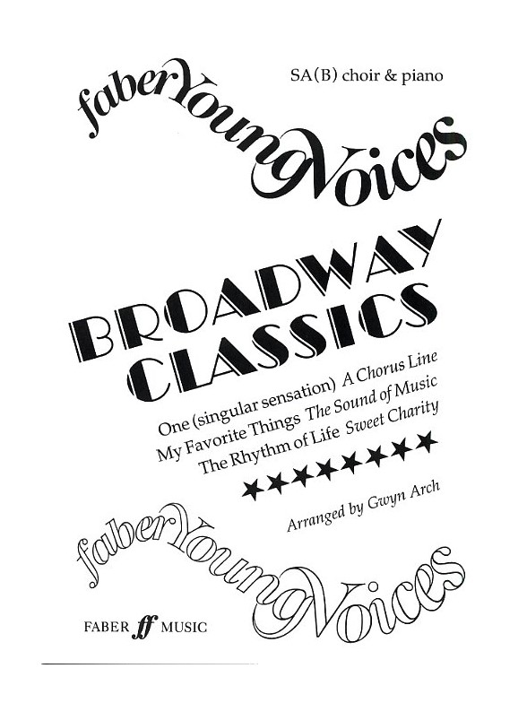 Sheet Music : Faber Young Voices: Broadway Classics (SAB