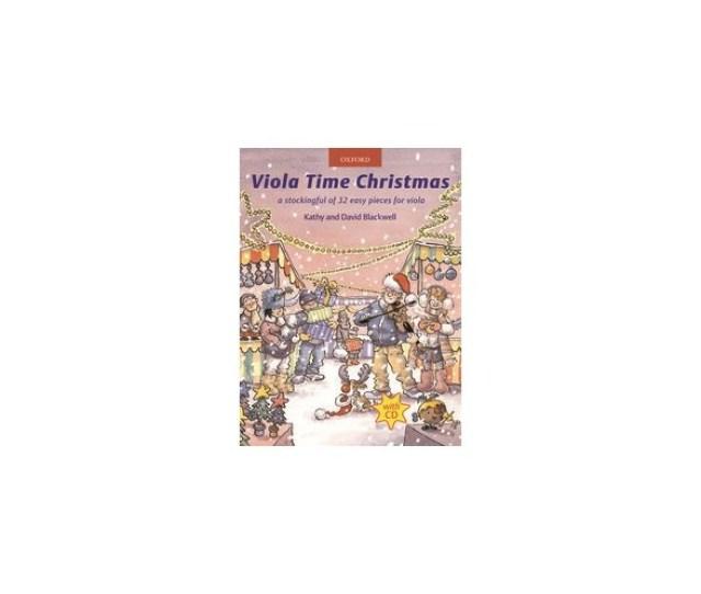 Viola Time Christmas Book Cd Sheet Music Cd
