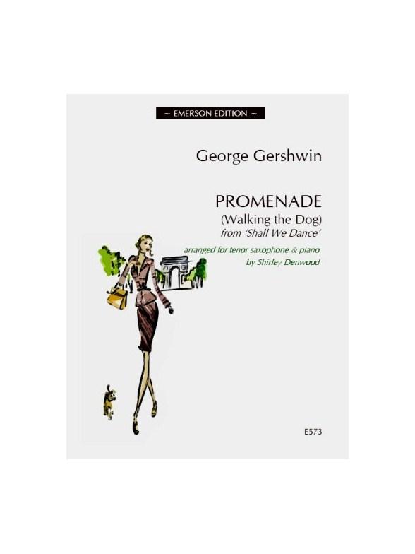 Sheet Music : George Gershwin: Promenade (Walking The Dog