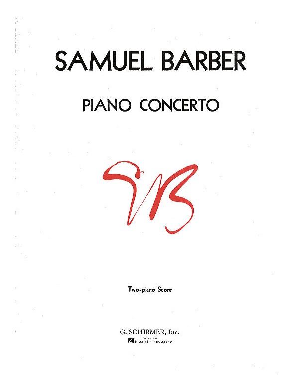 Samuel Barber: Concerto For Piano Op.38 (2 Piano Score