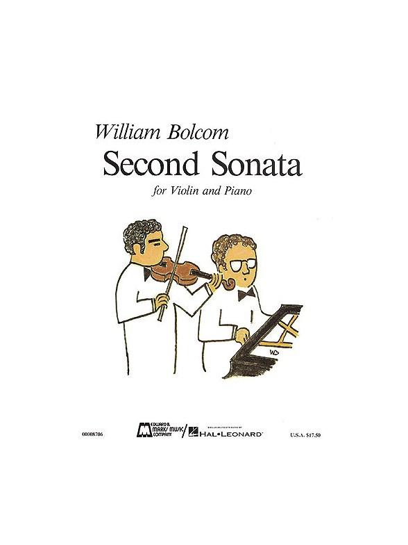 Partitions : William Bolcom: Second Sonata (Violon et Piano)