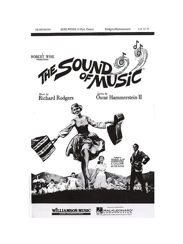 Sheet Music : Richard Rodgers: Edelweiss (The Sound Of