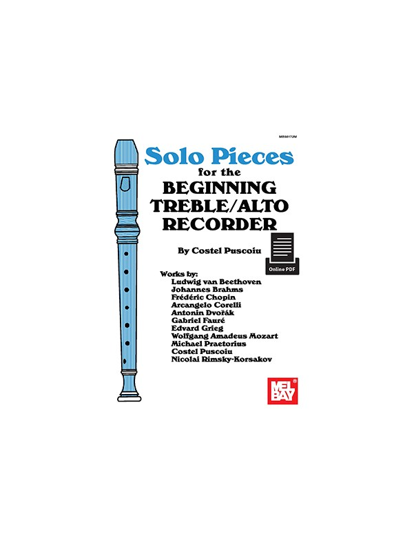 Sheet Music : Costel Puscoiu: Solo Pieces For The