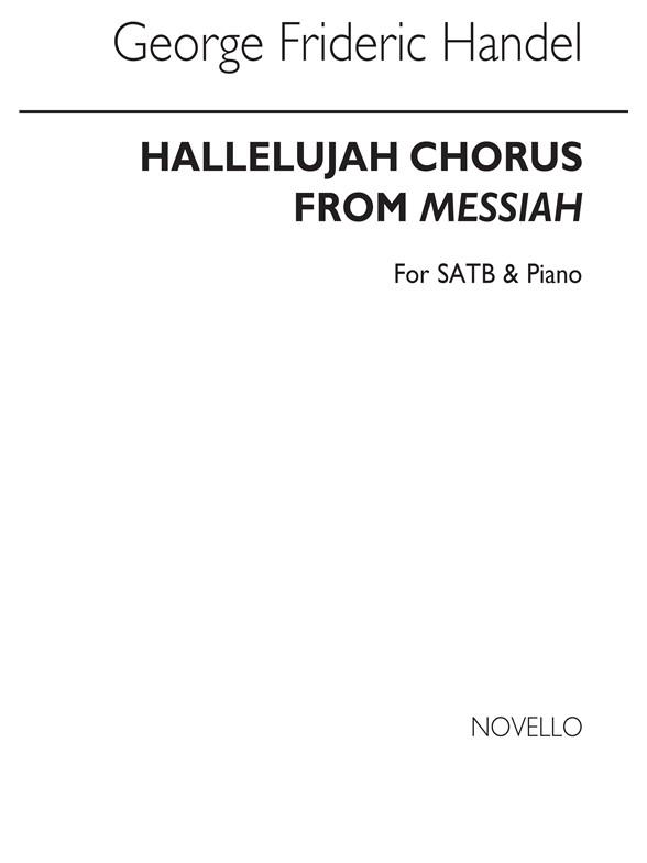 Sheet Music : G.F. Handel: Hallelujah Chorus (Messiah