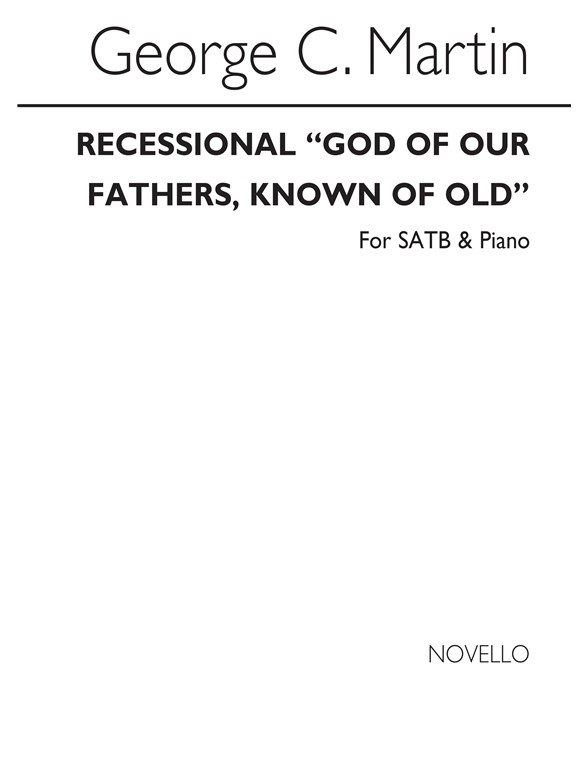 Sheet Music : God Of Our Fathers, Known Of Old (SATB/Organ