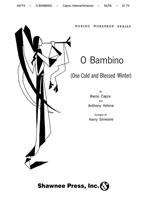Sheet Music : O Bambino (SATB) (SATB, Piano)
