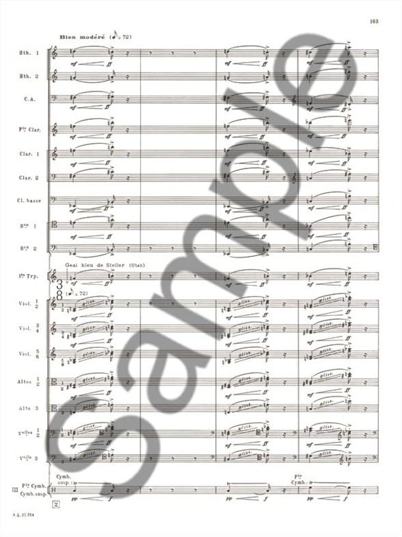 Olivier Messiaen: Des Canyons Aux Étoiles... Vol.2 (Score