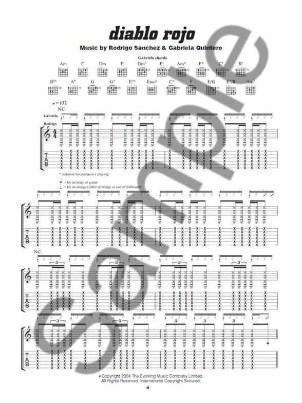 Play Guitar With… Rodrigo Y Gabriela (Book/Audio Download