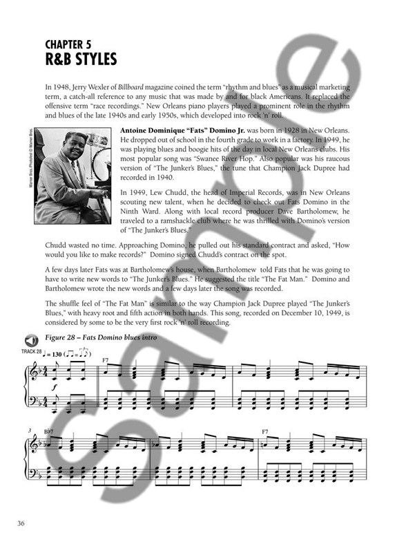 New Orleans Piano Styles: A Guide To The Keyboard Licks Of
