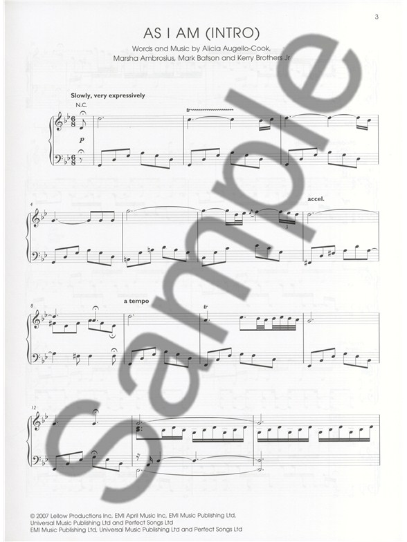 Fallin Alicia Keys Piano Sheet Music Pdf