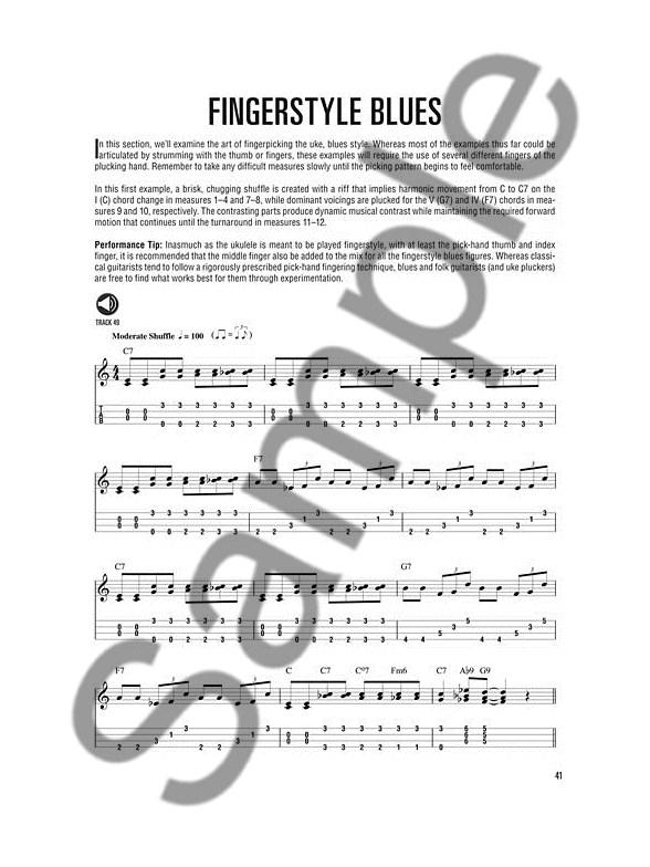 Hal Leonard Ukulele Method: Blues Ukulele (Book/Online