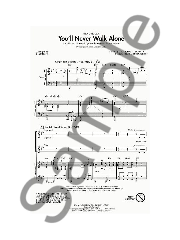 Rogers And Hammerstein: You'll Never Walk Alone (Carousel