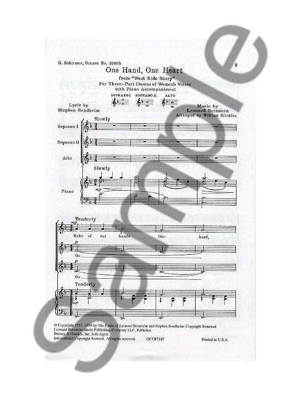 Leonard Bernstein: One Hand, One Heart (West Side Story