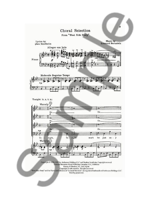 Leonard Bernstein: Choral Selections (West Side Story