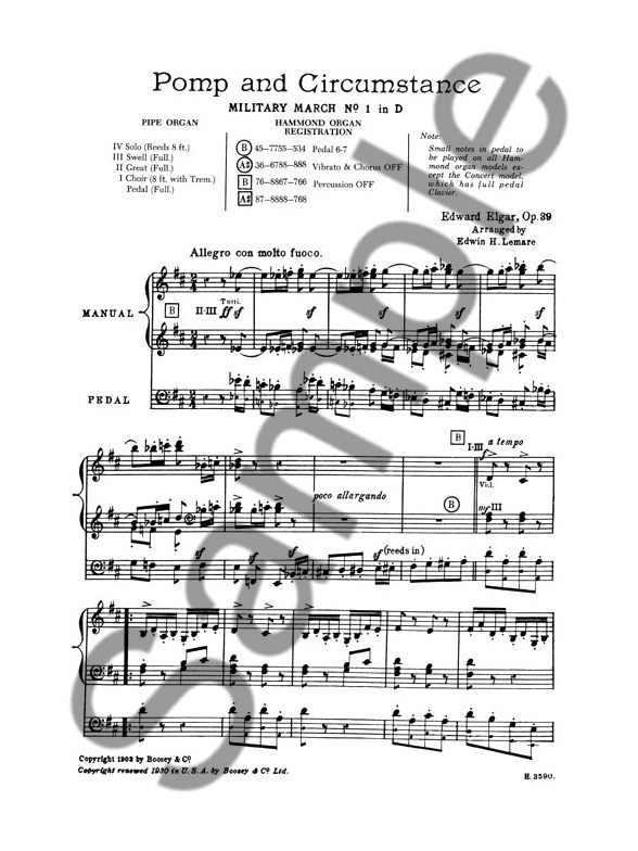 Edward Elgar: Pomp And Circumstance (Military March No.1