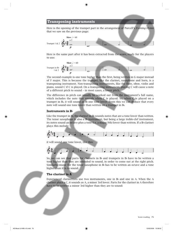 Rebecca Berkley/Paul Terry: AS Music Literacy Workbook